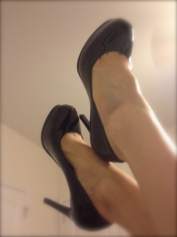 Heels, hooker heels, foot, footie